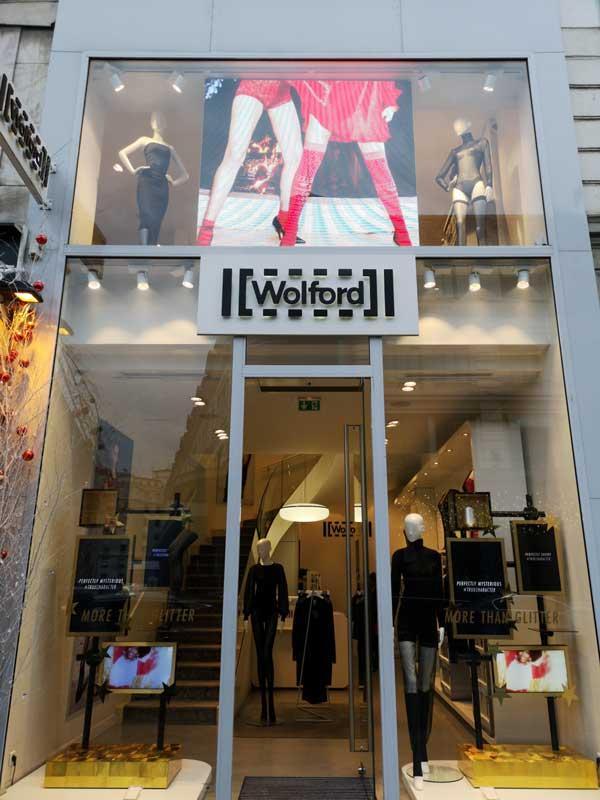 Rétail shop in Paris