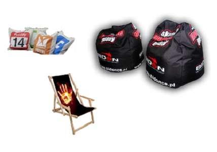 Director chair beach chair beanbag printed