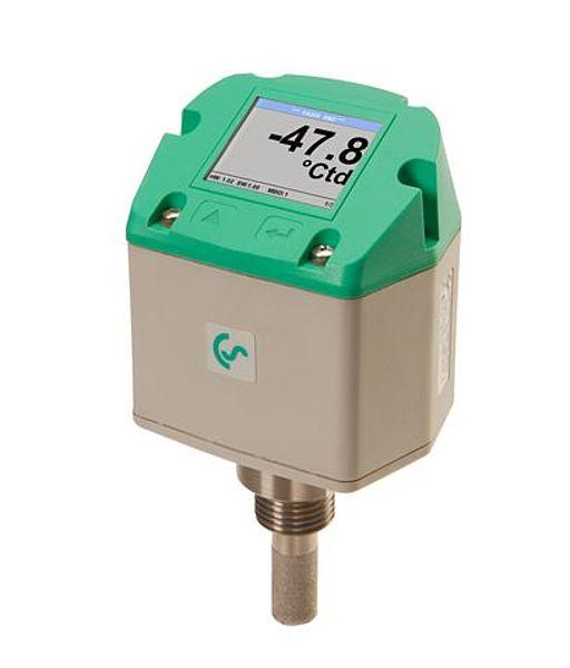 FA500 dewpoint transmitter with integrated display and relay