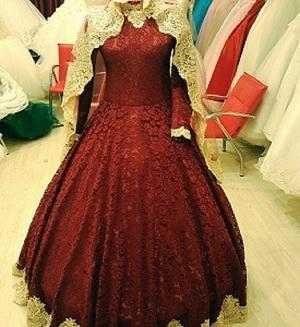 hijab dress wedding dress
