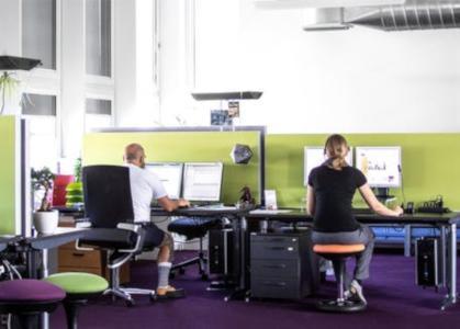 Büroräumlichkeiten des Kundendienstes