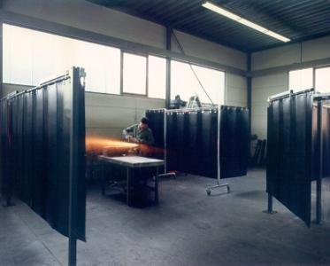 Weich-PVC Streifen für Schweisserschutz
