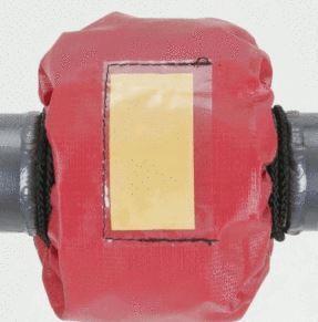 PVC-Spritzschutz für Flansche