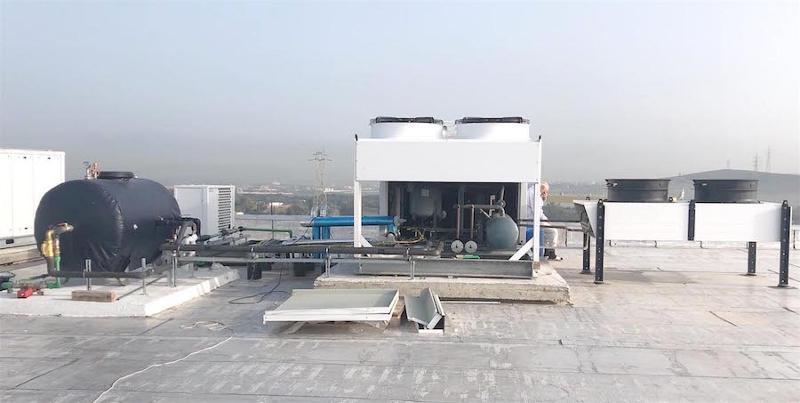 Installation de production de FROID équipée de récupération de chaleur
