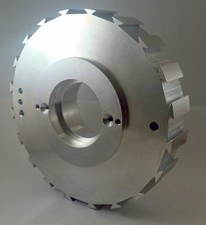 Aluminium Dreh - Frästeil