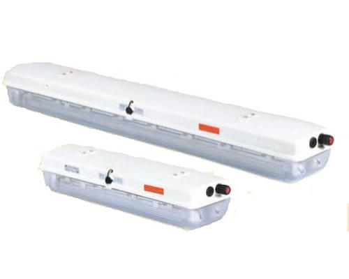 Luminaire fluorescent à sécurité augmentée