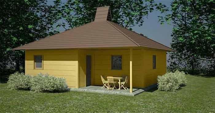 A1 maison de base TELLURIA basic home