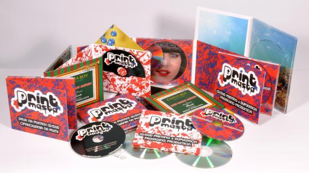 CD/DVD packaging printing, digital, low runs