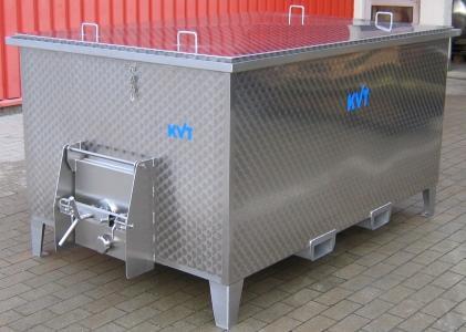 KVT stainless steel vat for wineries