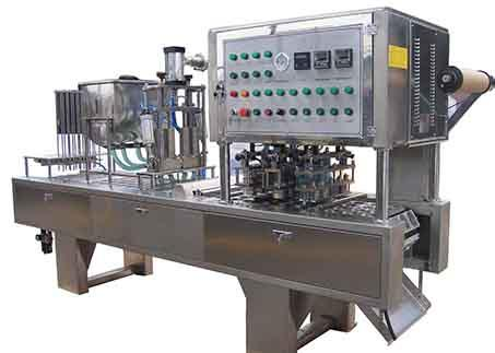 Automatic Linea Cup Fill Seal foil or film packing machine  AF-100