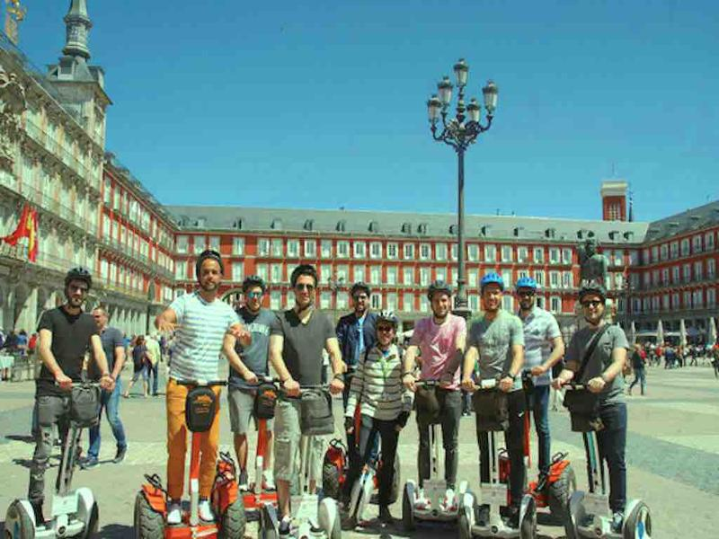 Ninebot Segway Tour in Madrid with Funky Rider