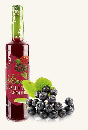 Organic Chokeberry Vinegar 4.5% acidity