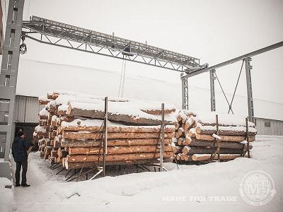 Logs we buy on the wood exchange
