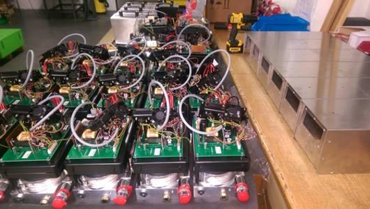 Produktion von hydraulischen Pumpen