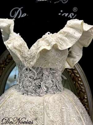 Wedding Dress Lace Beads