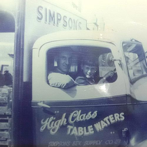 Simpsons delivery trucks in the 1930's