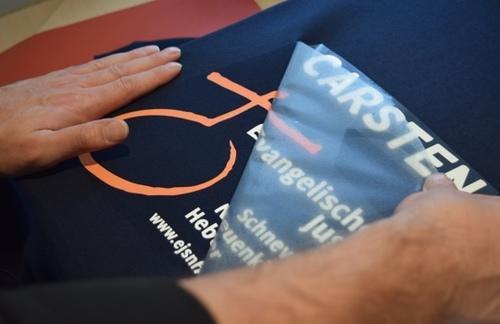 Digital-Flexdruck auf Sweatshirts