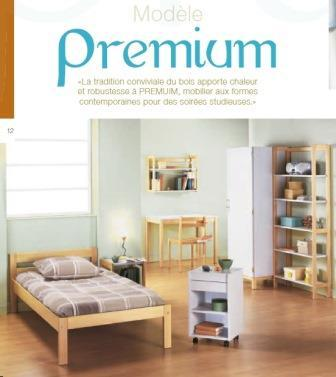 Mobilier hébergement - Gamme de couchage, rangement et espace de travail PREMIUM
