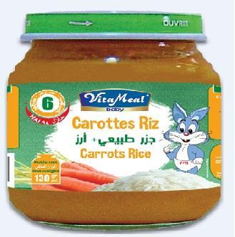 VITAMEAL BABY - Vegetables' jars