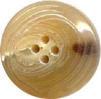 Bottoni: imitazione corno