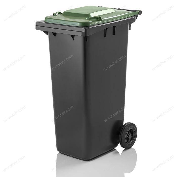Waste bins, Wheelie bins, mobile dustbins 180 litre