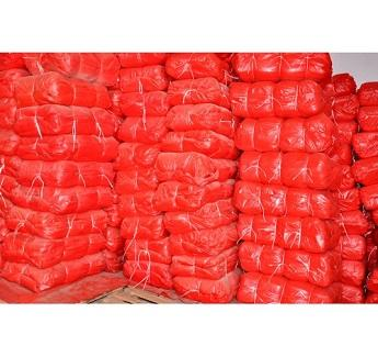 We offer mesh bags for potatoes, onions, peppers. We have net bags in all colors, the following dimensions: 18x40, 22x40, 30x50, 35x50, 40x60, 50x80