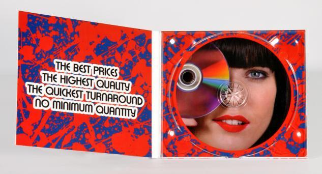 4p digipack, digitally printed low runs