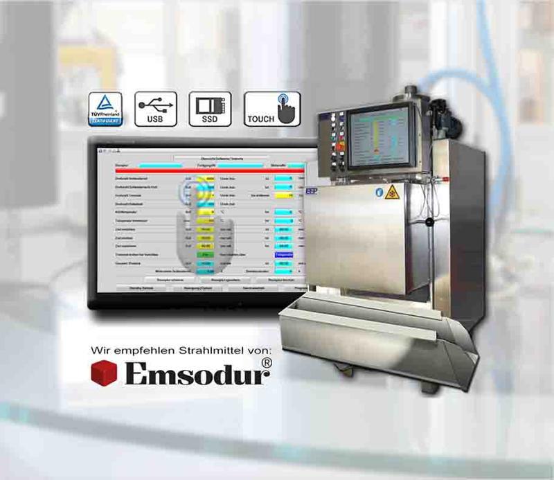 machine d'ébavurage cryogénique E20