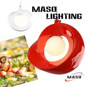 Indoor Pendant Apple Type Resin Lamp Energy Save Power LED Replacable Glass