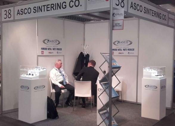 Exhibition Stand at the World PM
