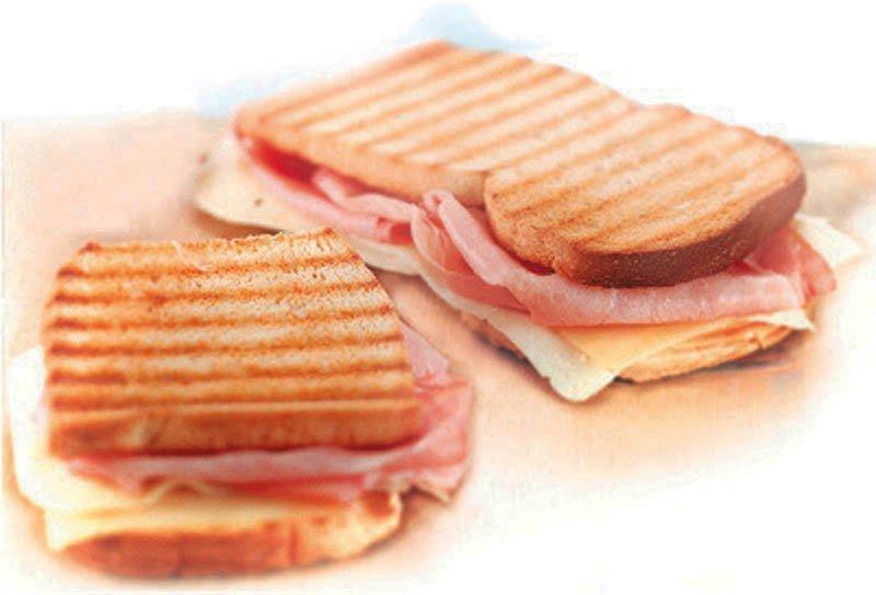 Maxi Toast Cotto e Formaggio