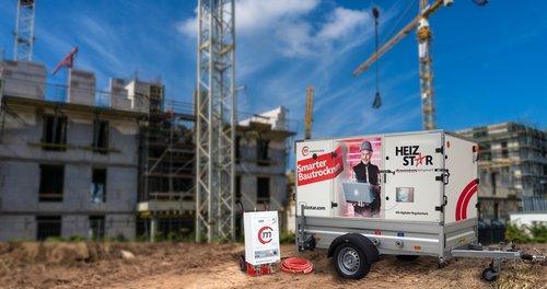 Mobile Wärme für Baustellen
