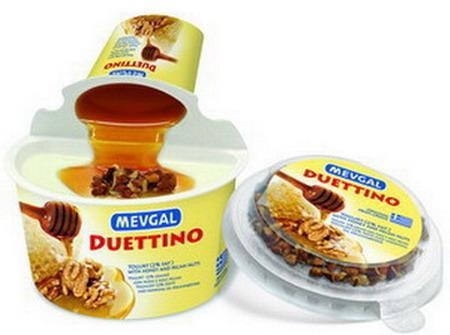 DUETTINO Yogurt with Honey and pecans