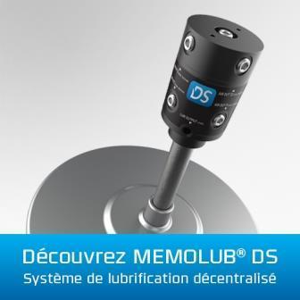 Nouveau en 2016: MEMOLUB® DS, le système de lubrification déportable