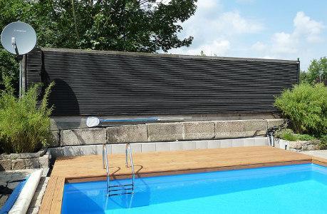 Solarabsorber zur Poolheizung