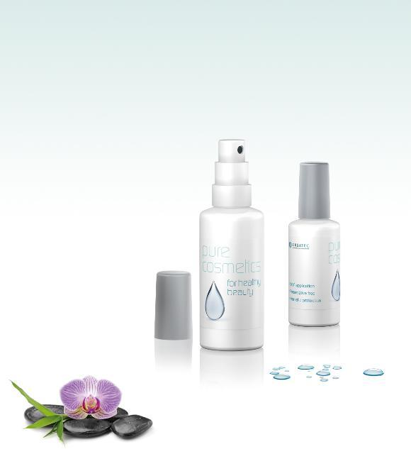 Pure Cosmetics for healthy beauty