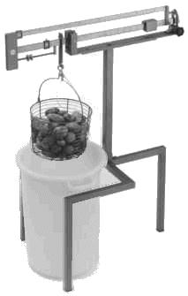 Kartoffelstärkewaagen