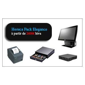 pack caisse enregistreuse et contrôle sécurité via caméra