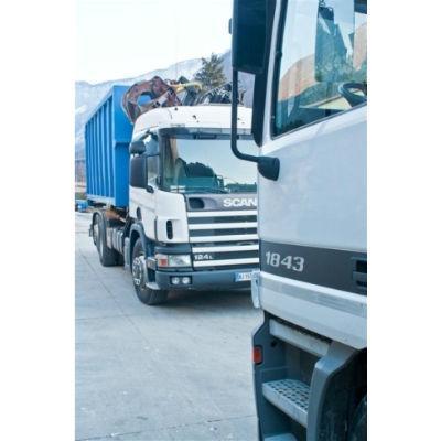 camion per raccolta