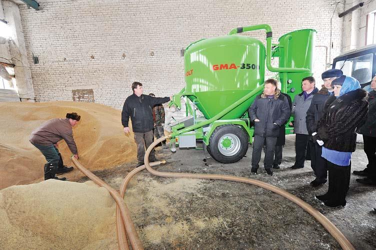 Feed mill in Russia Leningrad region for poultry, cattle, rabbits, pork, horses,