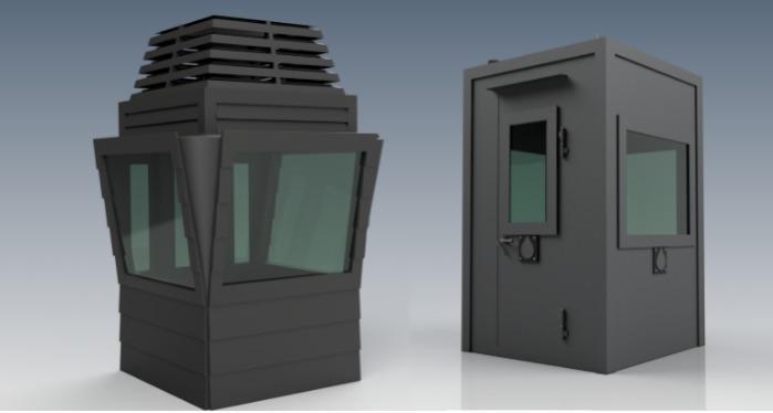 Bulletproof Constructions Guard Shacks