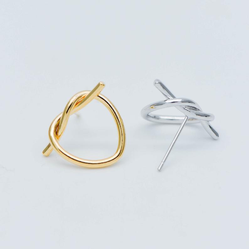 Silver & Gold Earring