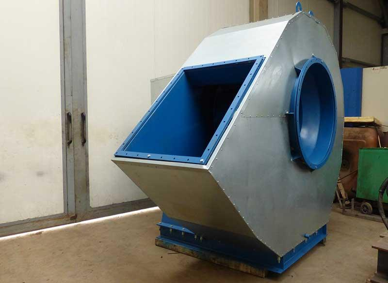 Fan steel construction for offshore