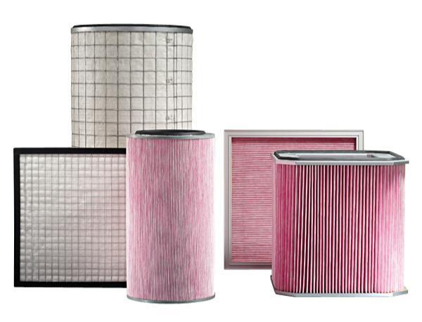 Filterelemente für Öl- und Emulsionsnebel