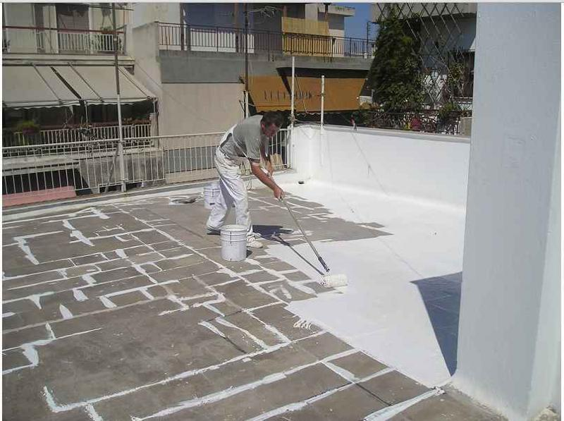 Polyurethane coating for waterproofing