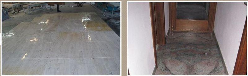 Pavimenti in pietra e marmo