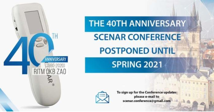Welcome to The International Conference on SCENAR Therapy in Prague, spring 2021