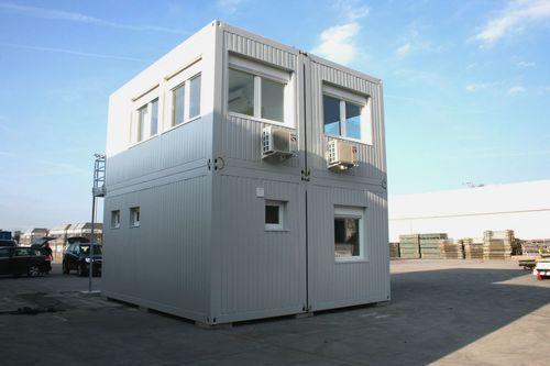 Büro-Containeranlage