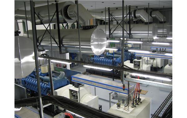 Centrale de production installée