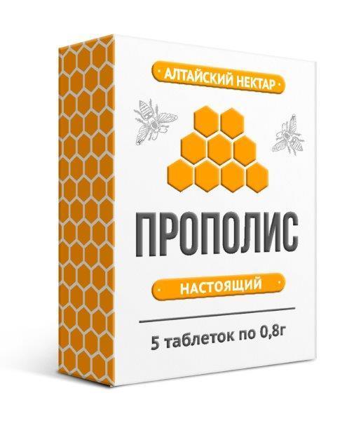 Natural bee propolis